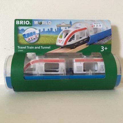 Brio Travel Train and Tunnel #33890