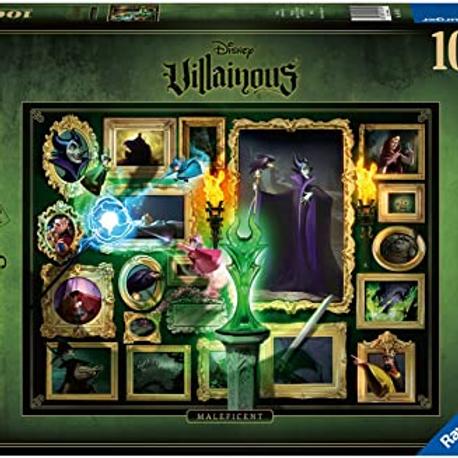 Ravensburger Puzzle, 1000 pc, Villianous, Maleficent