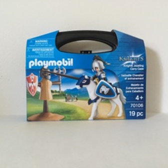 Playmobil Knights Jousting with Carry Case