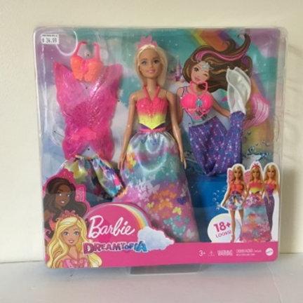Barbie Dreamtopia Dress Up Gift Set # GJK40