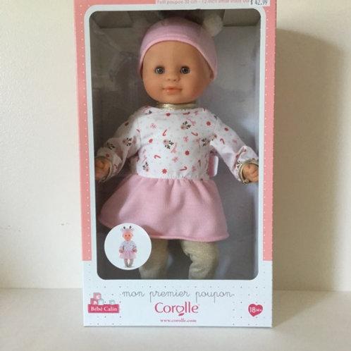 Corolle Bebe Calin Holiday Baby Doll