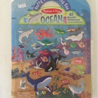 Melissa & Doug Sticker Play Set - Ocean