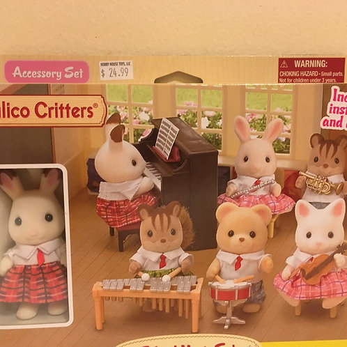 Calico Critters Musical Instruments