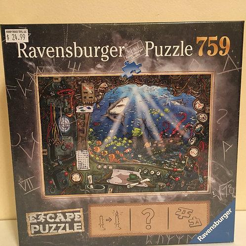 Ravensburger Puzzle 759 ESCAPE PUZZLE