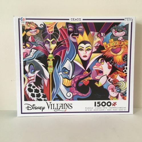 CEACO Disney Villians Puzzle