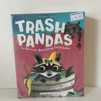 Gamewright Trash Pandas / The Raucous Raccoon Card Game