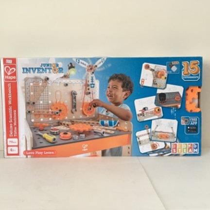 Hape Junior Inventor Deluxe Scientific Workbench
