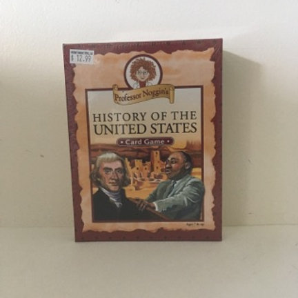 Professor Noggin's History of the United States Card Game