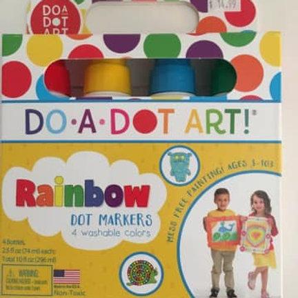 Do a Dot Art - Rainbow