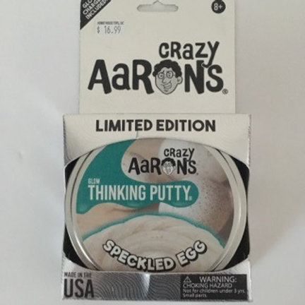 Crazy Aarons Thinking Putty -Speckled Egg