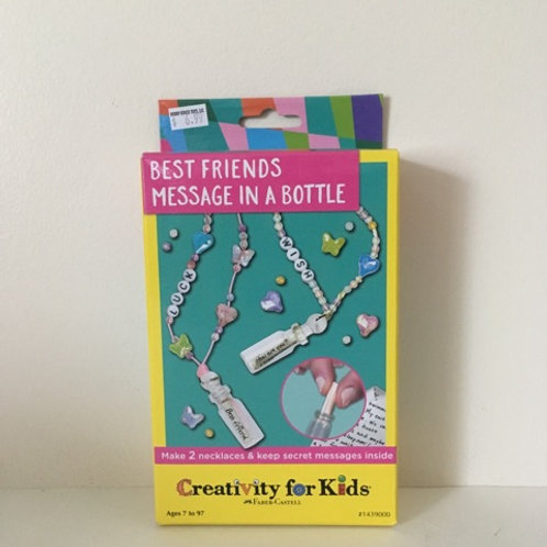 Creativity For Kids - Best Friends Message in a Bottle