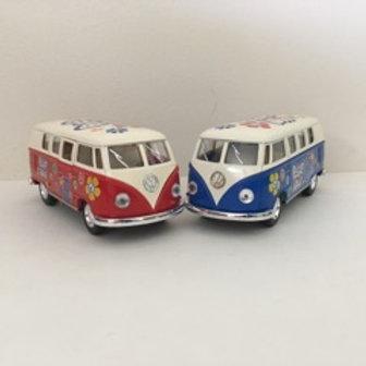 Die Cast VW Peace & Love Bus