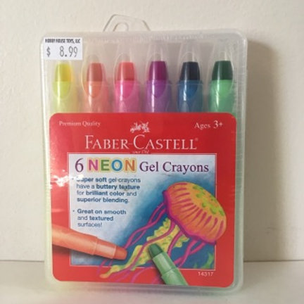 Faber Castell Neon Gel Crayons