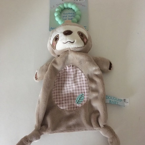 Douglas Baby Lil' Shlumpie Teether Sloth