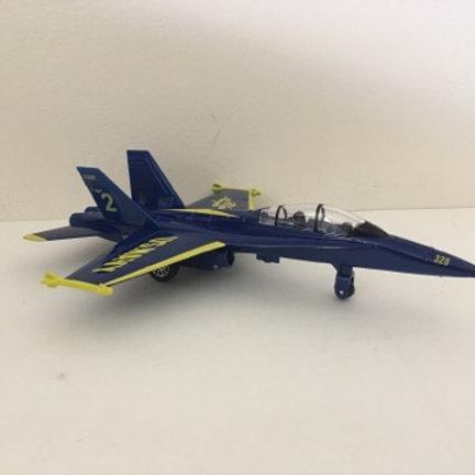 Die Cast US Navy Blue Angels Jet