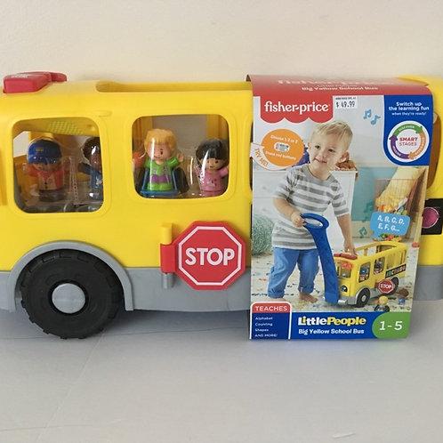 Fisher Price Little People Big Yellow School Bus