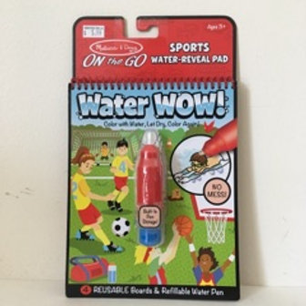 Melissa & Doug On the Go Water Wow - Sports!