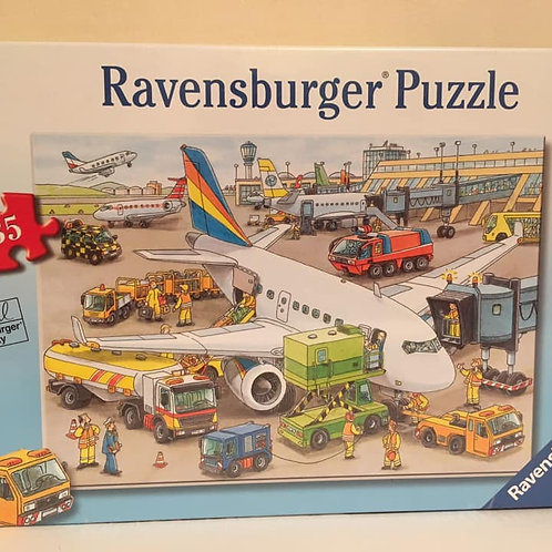 Ravensburger 35 pc Puzzle, Airport busy