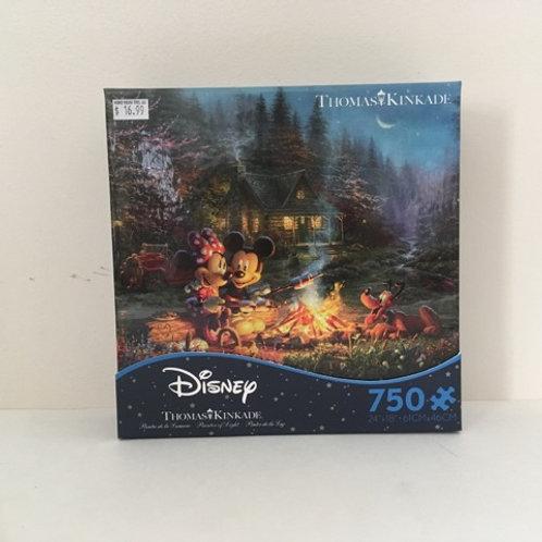 Ceaco Thomas Kinkade Disney Puzzle - Mickey Minnie