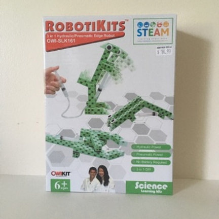 RobotiKits 3 in 1 Hydraulic / Pneumatic Edge Robot