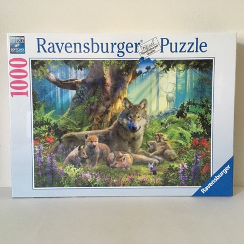 Ravensburger Wolves in the Forest Puzzle