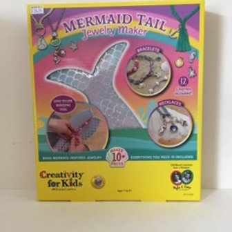 Creatvity for Kids Mermaid Tail Jewelry Maker