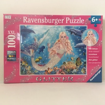 Ravensburger Glitter Mermaid and Dolphins Puzzle