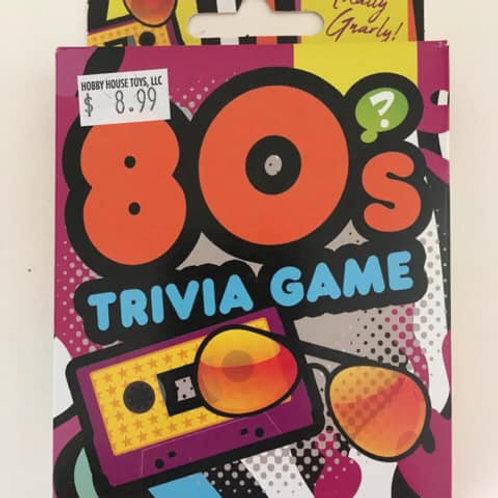 80's Trivia Game