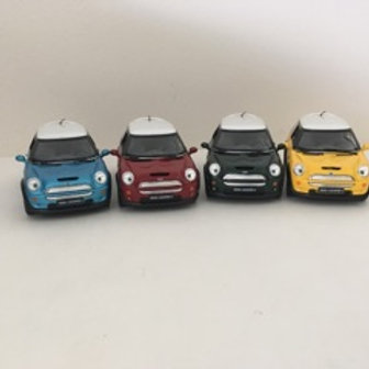 Die Cast Mini Cooper Car