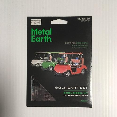 Metal Earth Golf Cart