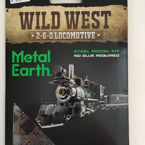 Metal Earth Wild West Locomotive
