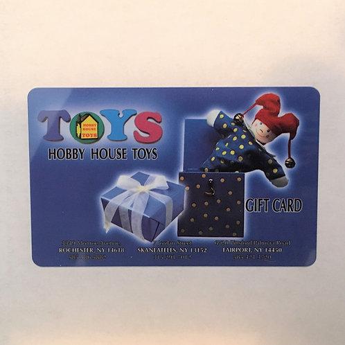 $25 Hobby House Toys Gift Card
