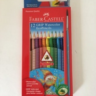 Faber Castell Grip Watercolor EcoPencils
