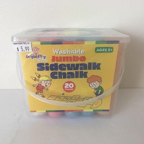 Original Toy Washable Jumbo Sidewalk Chalk