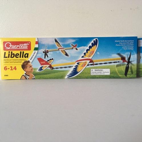Quercetti Libella Rubber Band Powered Glider