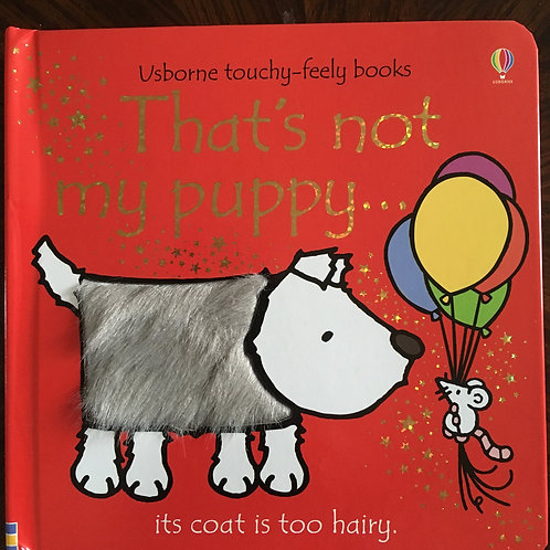 Usborne touchy-feely books, That's not my puppy?