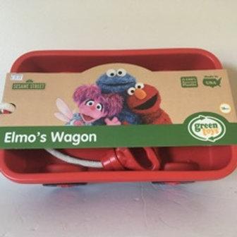 Green Toys Elmo's Wagon