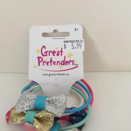 Great Pretenders, Hair ties with bows