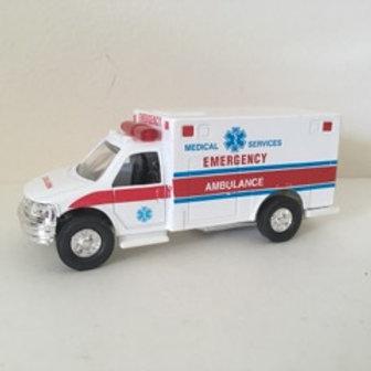 Die Cast Emergency Ambulance