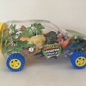 Dino Adventure Dinosaur Vehicle Playset