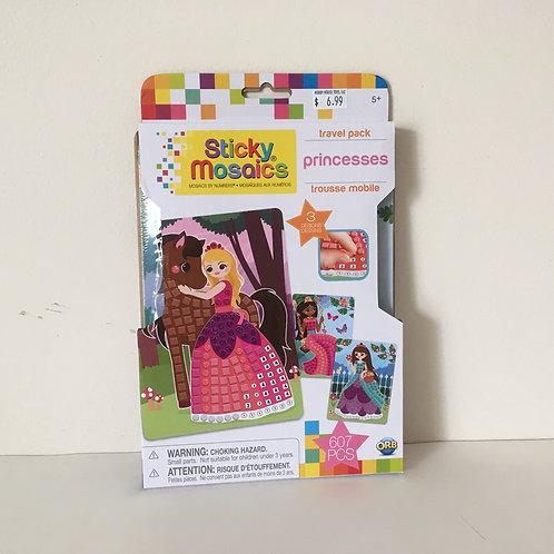 ORB Sticky Mosaics Princesses Travel Pack