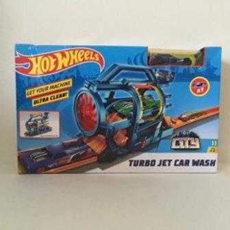 Hot Wheels Turbo Jet Car Wash Set