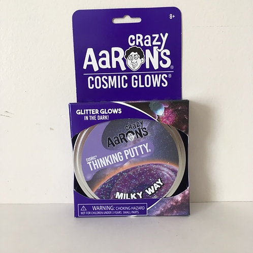 Crazy Aaron's Cosmic Glows Milky Way Thinking Putty