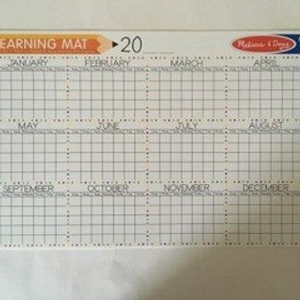 Melissa & Doug Learning Mat - Calendar
