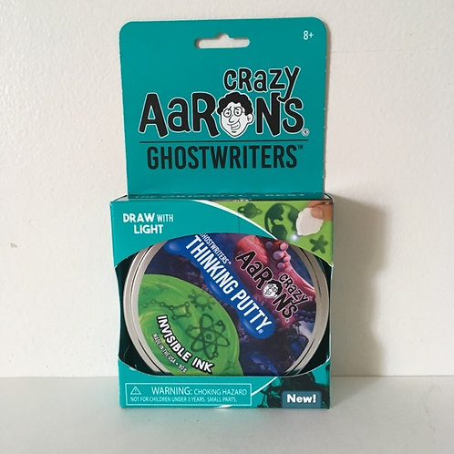 Crazy Aaron's Ghostwriters Invisible Ink Thinking Putty