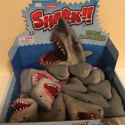 Shark Stretch Hand Puppet