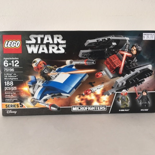 Lego Star Wars - TIE Silencer Microfighters