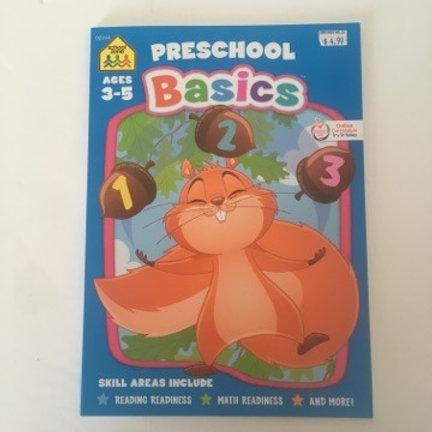 School Zone Preschool Basics Book