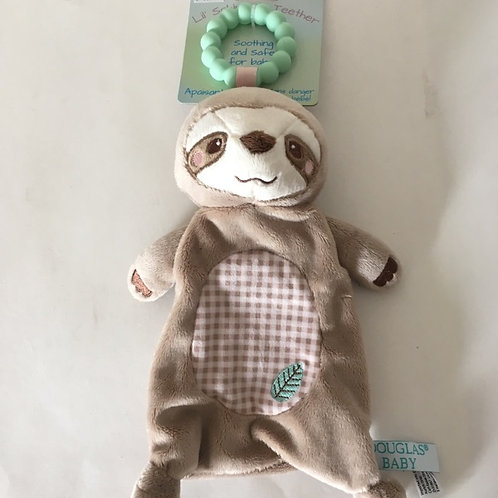 Douglas Lil' Sshlumpie Teether - Sloth