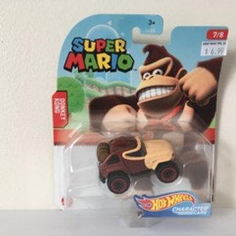 Hot Wheels Super Mario - Donkey Kong Vehicle